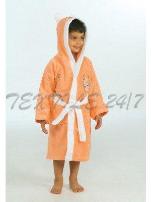 Детский натуральный халат