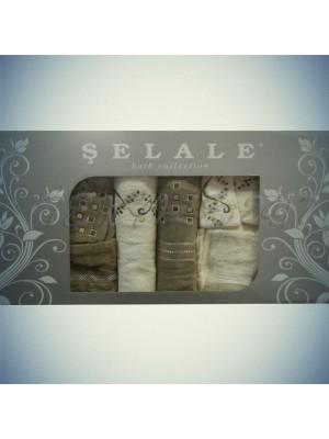 Семейный набор халатов и полотенец Selale