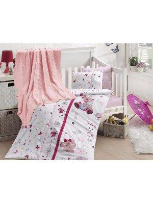 """Детский постельный набор+Покрывало """"Nirvana Cute Baby"""""""