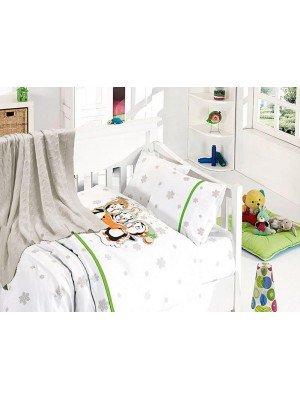 """Детский постельный набор+Покрывало """"Nirvana Penguins"""" Series"""