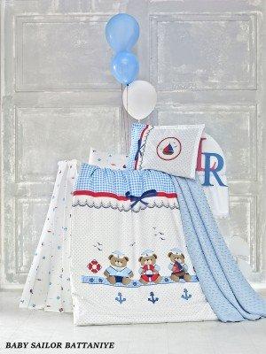 """Детское постельное бельё + плед """"Sailor"""" :: LaRomano"""